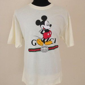 GUCCI MEN NEW SEASON SHORT SLEEVE TSHIRT DISNEY